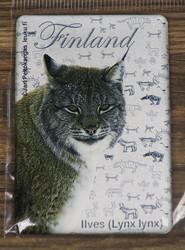 Magneetti Ilves, Finland, 55x80mm