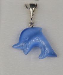 Riipus: Delfiini, vaaleansininen