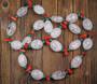 Helmet vuorikide jää-ice malakiitti koralli 65cm Joulu2