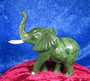 Kiviveistos Elefantti, verdiittinorsu, paino 2750g UPEA!