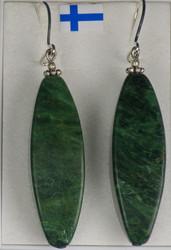Korvakorut: Verdiittikorvakorut, kookkaat, 925-hopea-silver