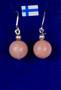 Korvakorut pinkki opaali