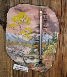 Lämpömittari: dolomiittilämpömittari, kivimurskamaisema (ku)