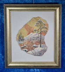 Taulu: Talvipäivä, kivimurskataulu (fg)