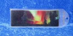 Kirjanmerkki: Revontulet 3-D, koko16x5,5cm