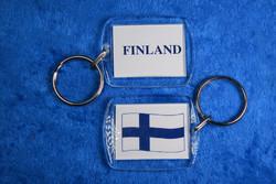 Avaimenperä: Suomen lippu / Finland