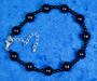 Rannekoru aventuriini kimalteleva tummansininen tähtikivi 18-25cm
