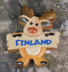 Magneetti: Hirvi Finland (seisova)