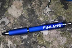 Kynä: Kuivamustekynä sininen, Finland