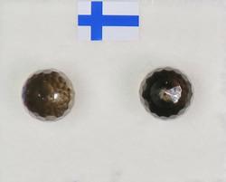 Nappikorvakorut savukvartsi 8mm viistehiottu