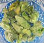 Diopsidi raaka vihreä, eri kokoisia 500g erä
