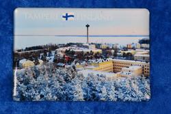 Magneetti Tampere talvella Näsinneula, Näsijärvi,  Amuri