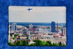 Magneetti Tampere Pyynikin näkötornista kuvattuna