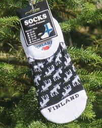 Sukat Hirvi-Finland, mustavalkoinen koko 36-40