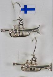 Hopeakorvakorut Trumpetti