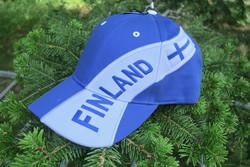 Lippis Finland sinivalkoinen suomilippis