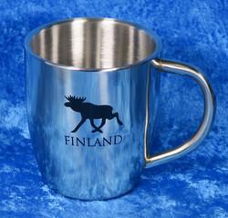 Teräsmuki hirvi Finland