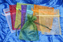Organzapussi keskikoko 120x170mm, valitse väri