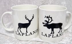 Muki Poro Lapland, mustavalkoinen