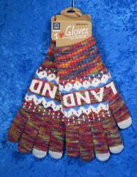 Käsineet lämpimät, kosketusnäyttö sormikkaat, moniväriset f18e
