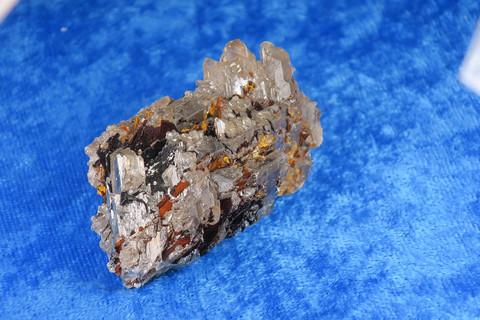 Serusiitti baryytti limoniitti 92g 50x30x30mm Marokko 92R