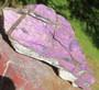 Purpuriitti iso raakapala 532g, 17x6x3cm