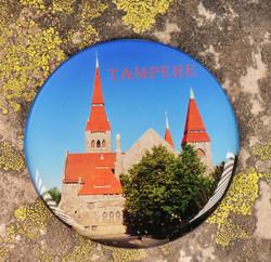 Magneetti Tampere Tuomiokirkko, halkaisija n.67mm
