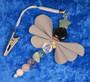 Heijastin VAAKA LIBRA  onnenkivet perhonen