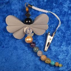 Heijastin KAKSOSET onnenkivet perhonen