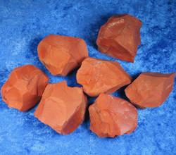 Jaspis punainen raaka 60-70g Intia