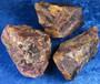 Ametisti viistehiontakelpoinen tumma iso kidepala 58-83g Namibiasta