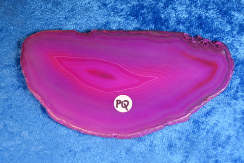 Akaattilevy pinkki 93x50mm nro PQ2
