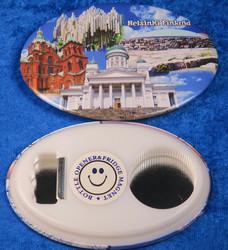 Magneetti pullonavaaja korkinavaaja Helsinki Finland souvenir