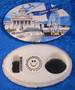 Magneetti pullonavaaja korkinavaaja Helsinki Finland souvenir, laiva