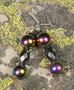 Korvakorut 2 metallihohtoista magneettia ja viistehiottu hematiitti
