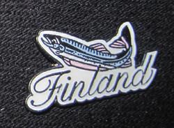 Pinssi taimen kala Finland metallia