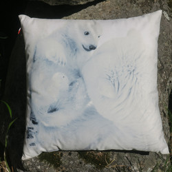 Tyyny sohvatyyny jääkarhut 45x45cm