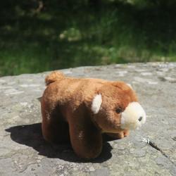 Pehmolelu karhu 16cm, äänellä
