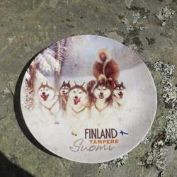 Seinälautanen 19cm huskyvaljakko Tampere Suomi Finland
