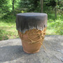 Djemberumpu saviruukun korkeus 32cm halkaisija 24cm, soi hyvin!