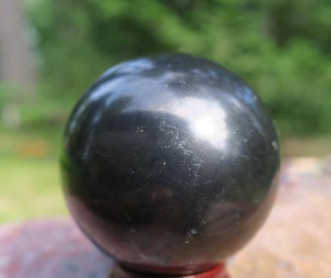 Kivipallo sungiitti 102g 40mm. Katso video