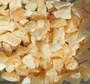 Kalsiitti keltainen raaka, eri kokoisia 500g/erä orange calcite