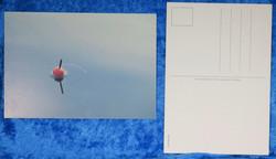 Postikortti mato-ongen koho järvessä