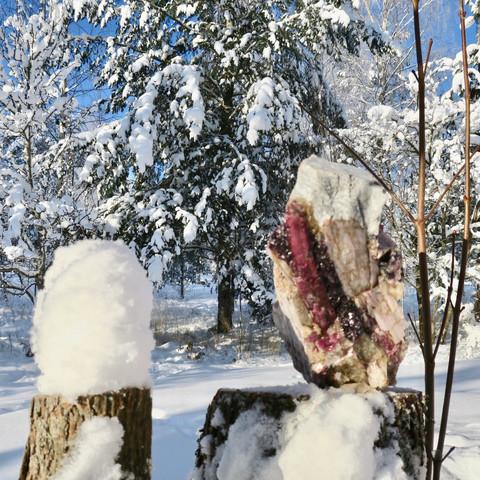 Pegmatiitti 6kg rubelliitti lepidoliitti natrimaasälpä kvartsi Suomi