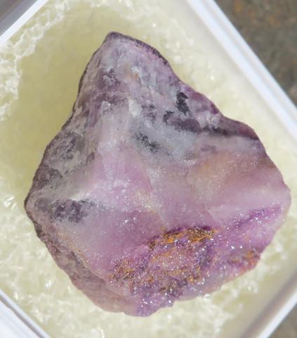 Fluoriitti raaka violetti 23mm nro 8R16