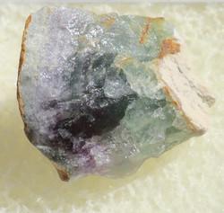 Fluoriitti raaka violetti, vihreä 22mm nro 8R18
