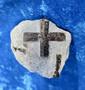 Stauroliitti ristikivi amulettikivi 37g 45x40x25 Khibini Venäjä Hi12c
