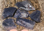 Dumortieriitti 6-8g raaka, puolet sahattu pinta Hi106b