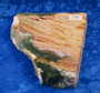 Valtamerijaspis toiselta puolelta hiottu siivu 80x70x13mm 125g nro8