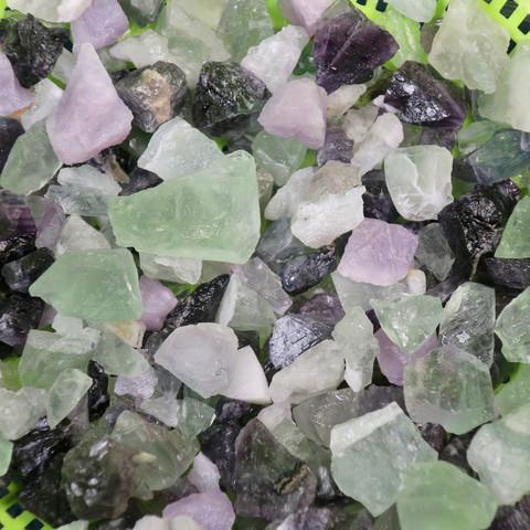 Fluoriitti raakapala violetti tai vihreä 3-5g Kiina